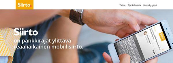 フィンランドのP2P送金サービス:Siirto